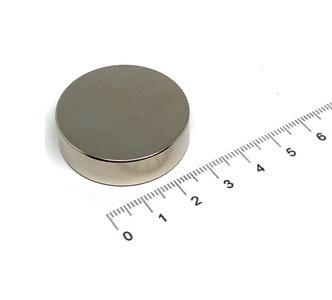 schijfmagneet 35x10 mm N35