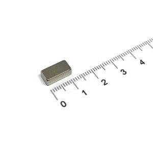 blokmagneet neodymium 12x6x4 mm