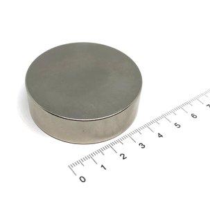schijfmagneet 50x15 mm N35