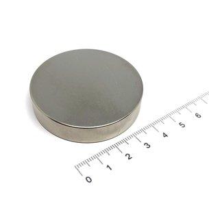 schijfmagneet 50x10 mm N35