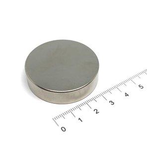 schijfmagneet 40x10 mm N35