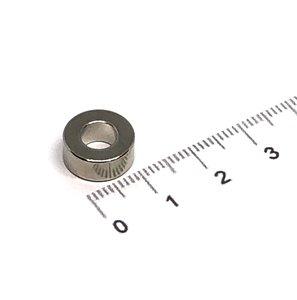 ringmagneet neodymium 12x6x5 mm