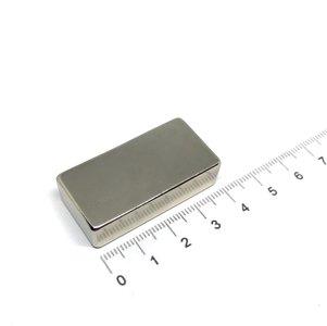 blokmagneet neodymium 40x20x10 mm