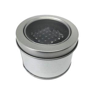 Magneetballetjes zwart 5 mm