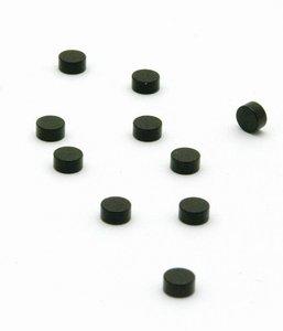 Steely magneetjes zwart