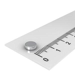6x2 mm neodymium schijfmagneet