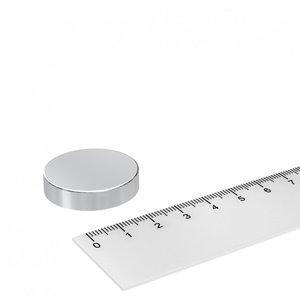 Schijfmagneet neodymium 30x7 mm N42