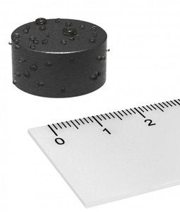 rubber magneet 22x11 mm neodymium