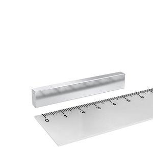 blokmagneet neodymium 60x10x5 mm N45