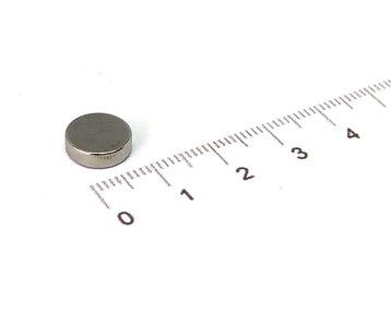 schijfmagneet 10x3 N42 neodymium