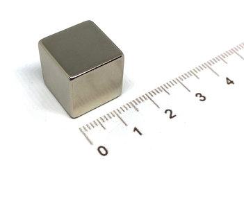 kubus blok magneet 15x15x15 N42