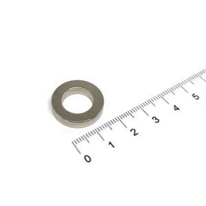 ringmagneet neodymium 20x12x4 mm
