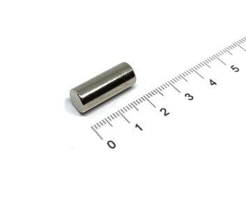 staafmagneet neodymium 8x20 mm