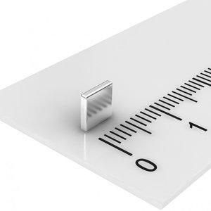 blokmagneet 5x5x1 mm N45 neodymium
