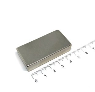 blokmagneet neodymium 50x25x10 mm