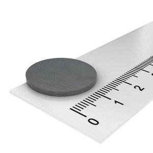 20x1,5 mm ferriet schijfmagneet