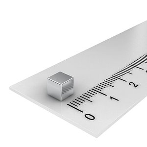 5x5x5 mm neodymium  kubusmagneet