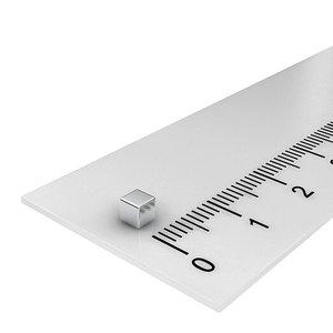 3x3x3 mm neodymium  kubusmagneet