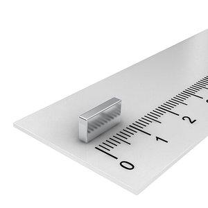 10x5x2 mm neodymium  blokmagneet