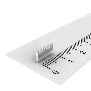 10x5x1 mm neodymium  blokmagneet