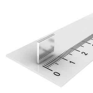 10x10x1 mm neodymium  blokmagneet