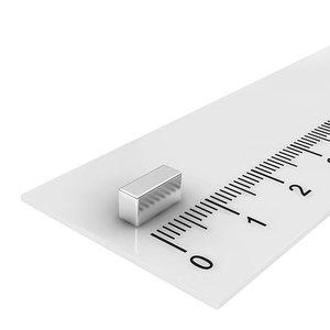 8x4x3 mm neodymium  blokmagneet