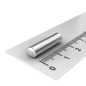 5x20 mm neodymium staafmagneet