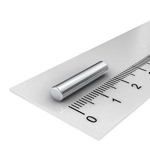 4x20 mm neodymium staafmagneet