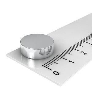 15x5 mm neodymium schijfmagneet