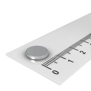 10x1,5 mm neodymium schijfmagneten