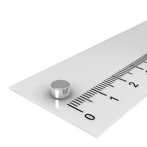 5x3 mm neodymium schijfmagneet