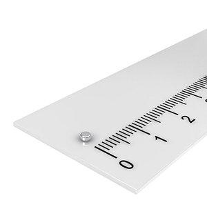 schijfmagneet 2x1 mm