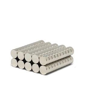 aanbieding 100 stuks neodymium schijfmagneten