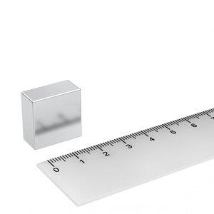 Blokmagneet 20x20x10 mm N45 neodymium