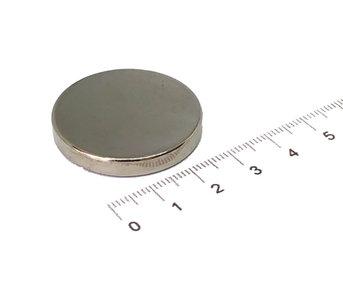 neodymium schijfmagneet 33x5 mm