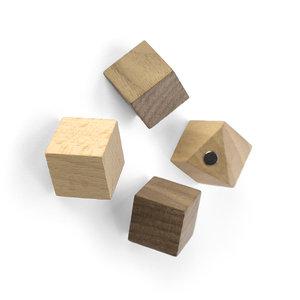 houten cube magneten Trendform