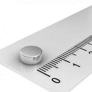 7x3 mm N45 neodymium schijf magneet
