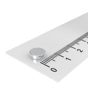 7x2 mm schijfmagneet neodymium