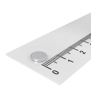 schijfmaagneet neodymium 7x1 mm n45