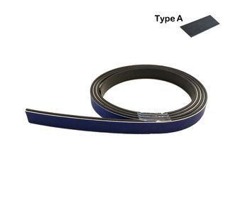 Zelfklevend magneetband met foam kleeflaag 12,7 mm A