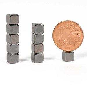 Antraciet kubus magneten neodymium