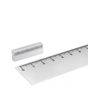 neodym blokmagneet 30x10x5 mm N45
