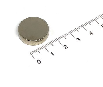 schijfmagneet neodymium 20x5 mm