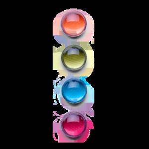 Sterke neodymium magneten van glas