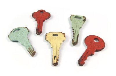 sleutel magneten colour keys