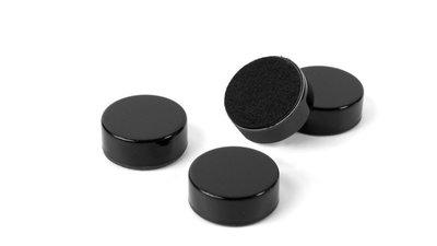 zwarte ronde schijfmagneten