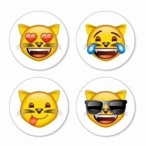 Emoji magneten Cats