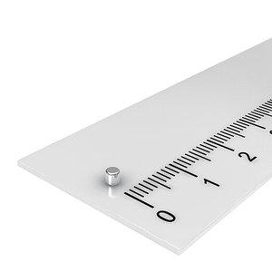 2x2 mm neodymium schijfmagneet
