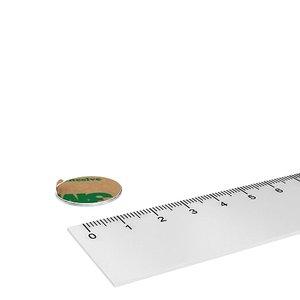 20x1 mm zelfklevende schijfmagneet neodymium