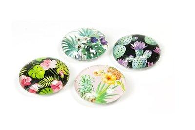 jungle bloemen magneten